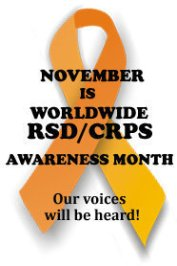 November – RSD Awareness Month